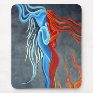 Fire N Ice Mouse Pad