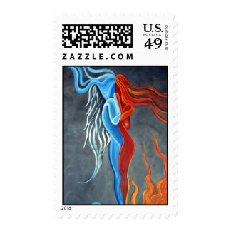 Fire N Ice Postage Stamps