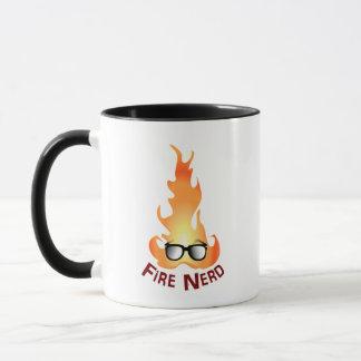 """""""Fire Nerd"""" Cool Fire Mug"""