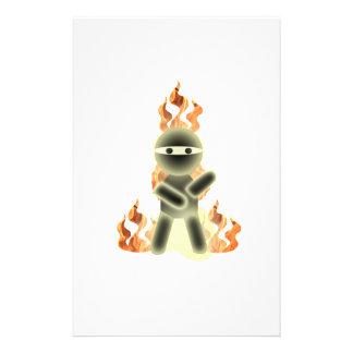 Fire Ninja (by lil kolohe Nick) Stationery
