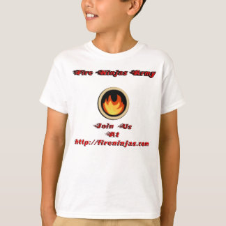 Fire Ninjas T-Shirt With FN Site In Front