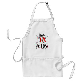 Fire - no Hire Pelosi Adult Apron