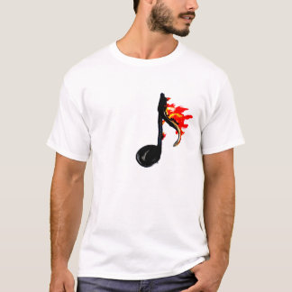 Fire Note Tee