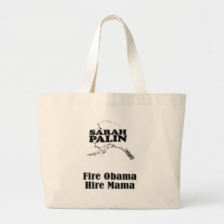 Fire Obama Hire Mama Canvas Bags