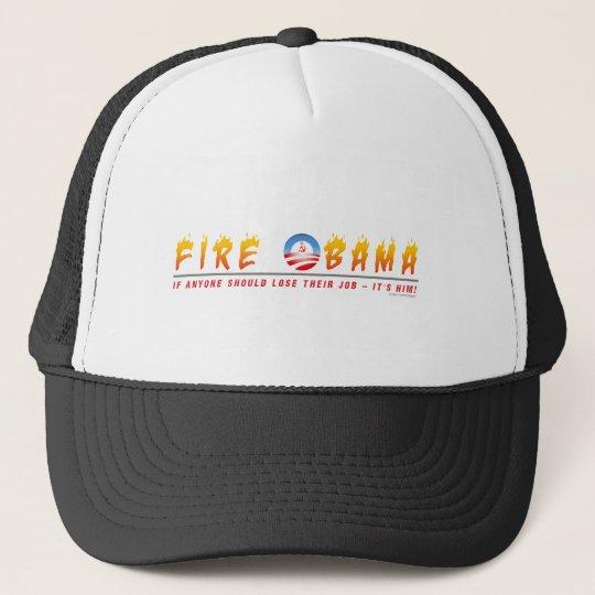 Fire Obama Trucker Hat