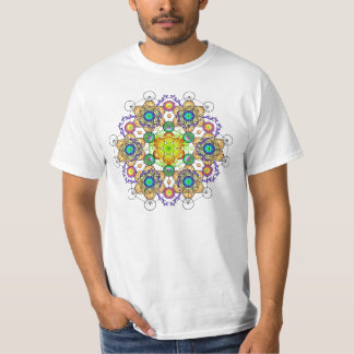 Fire of Creation Mandala 2 T Shirt