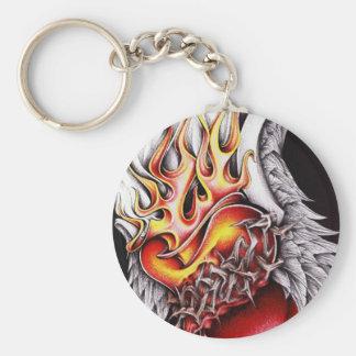 Fire of Faith Keychain