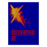 Fire of the Holy Ghost Poster