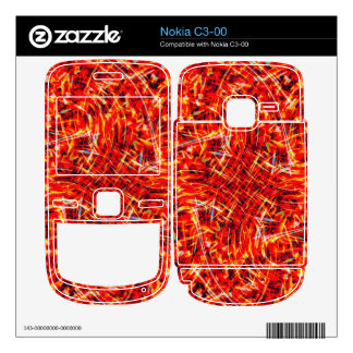 Fire of The Phoenix Nokia C3-00 Decal
