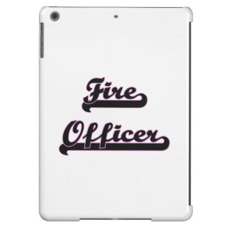 Fire Officer Classic Job Design iPad Air Covers
