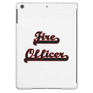 Fire Officer Classic Job Design iPad Air Cases