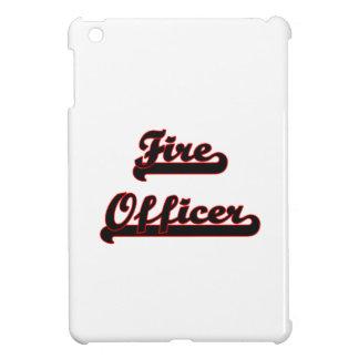 Fire Officer Classic Job Design iPad Mini Covers