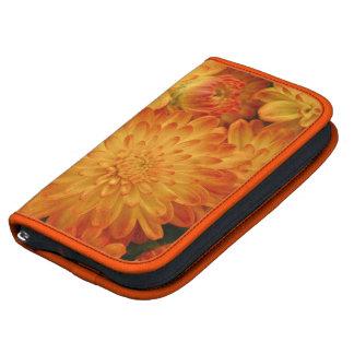 Fire Orange Chrysanthemums Planners