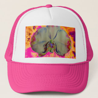Fire Orchid pink Trucker Hat
