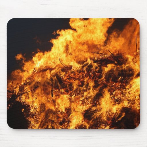 Fire PAD Mouse Pad