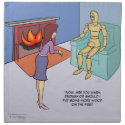 Fire Panic Napkins