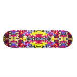 Fire Pattern Skateboard