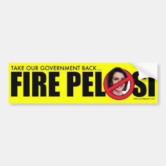 Fire Pelosi Bumper Sticker