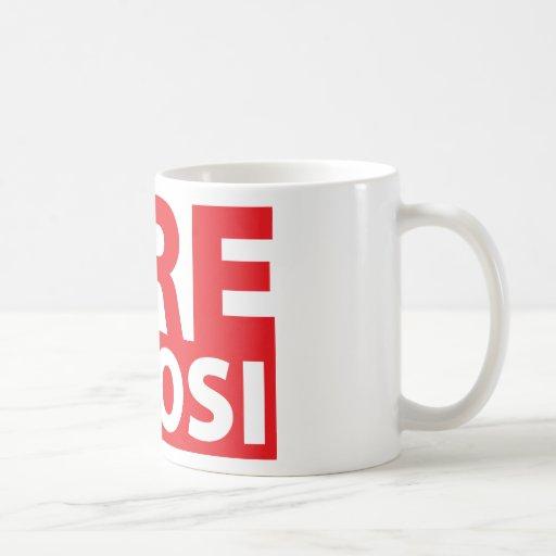 Fire Pelosi Classic White Coffee Mug