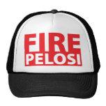 Fire Pelosi Mesh Hats