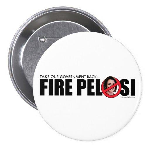 Fire Pelosi Pins