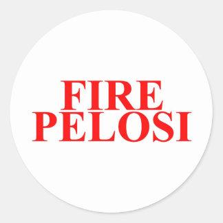 Fire Pelosi Sticker