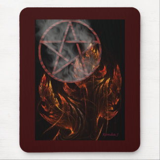 Fire Pent Mousepad