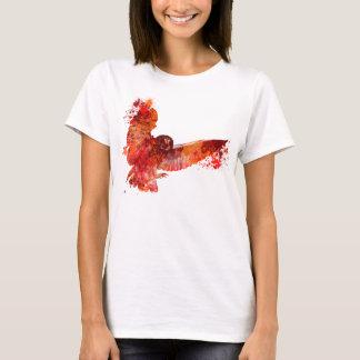 Fire phenix owl color splash T-Shirt