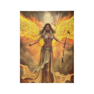 Fire Phoenix Ma'at Poster