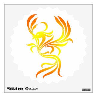 Fire Phoenix Wall Decal