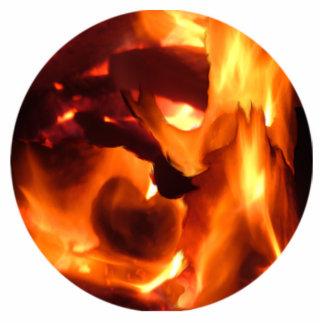 Fire Photo Sculptures