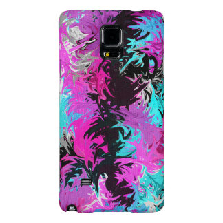 Fire Pink and Blue Samsung Galaxy Note 4 Case