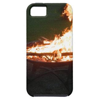 Fire pit bonfire image iPhone 5 cases