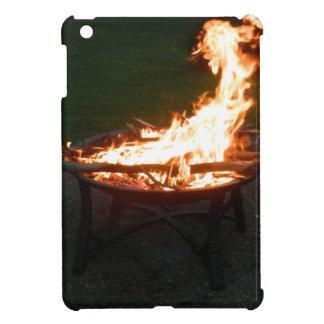 Fire pit bonfire image iPad mini covers
