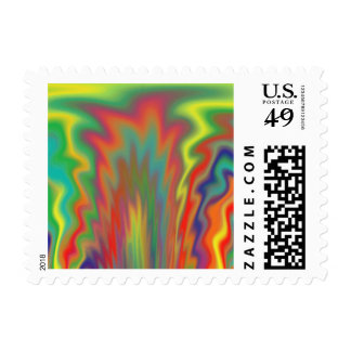Fire Pit Postage Stamps