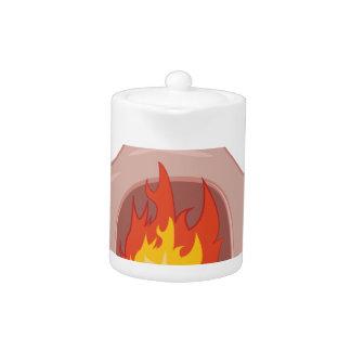 Fire Pit Teapot
