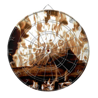 Fire Place Dartboard With Darts