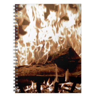 Fire Place Notebook