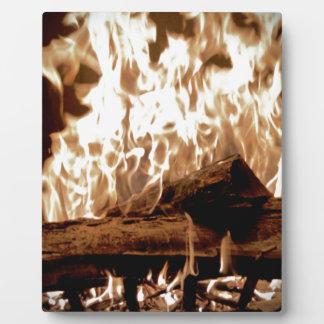 Fire Place Plaque