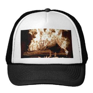 Fire Place Trucker Hat