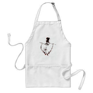 Fire play adult apron