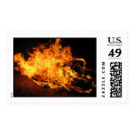 fire postage stamp