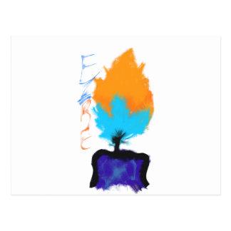 Fire Postcard