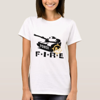 Fire Power Military Canon T-Shirt