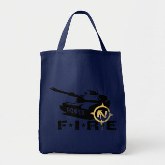 Fire Power Military Canon Tote Bag