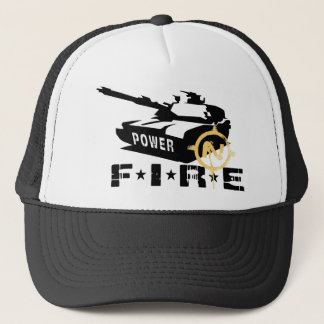 Fire Power Military Canon Trucker Hat