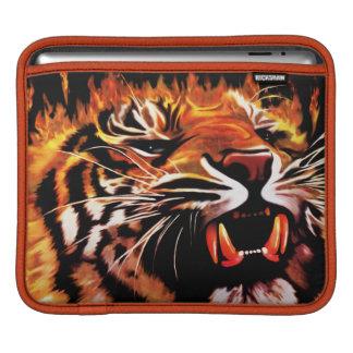 Fire Power Tiger iPad Sleeves