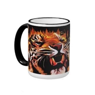 Fire Power Tiger Mug