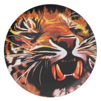 Fire Power Tiger Plate