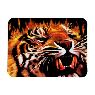 Fire Power Tiger Premium Flexi Magnet